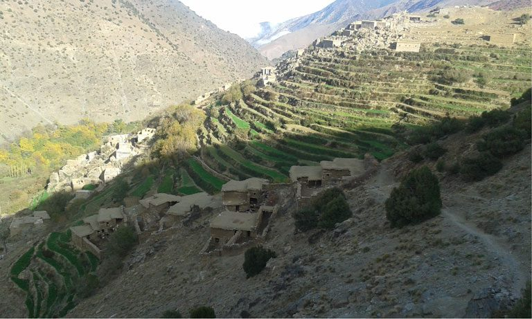 3-day berber villages trek