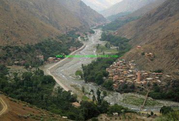 Imlil ourika valley trek