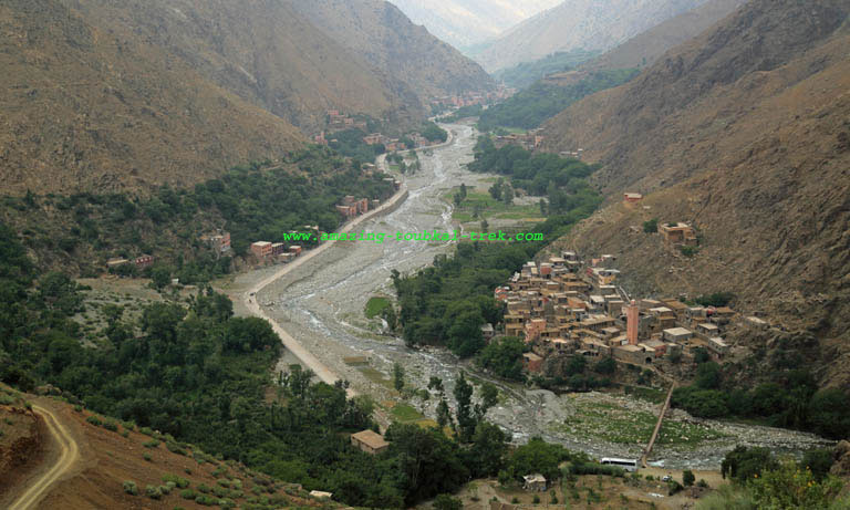 Imlil ourika valley trek