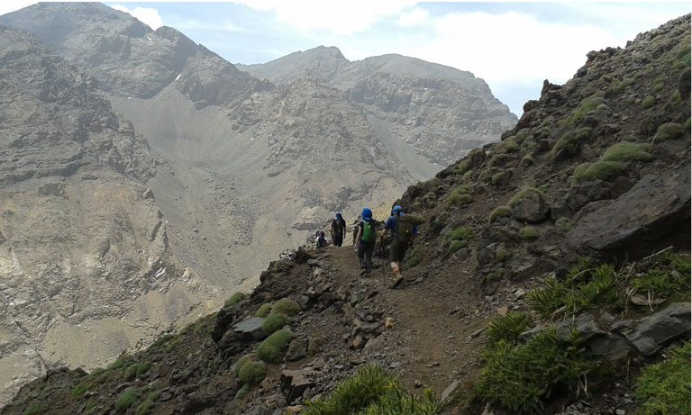 4-day mount toubkal ascent
