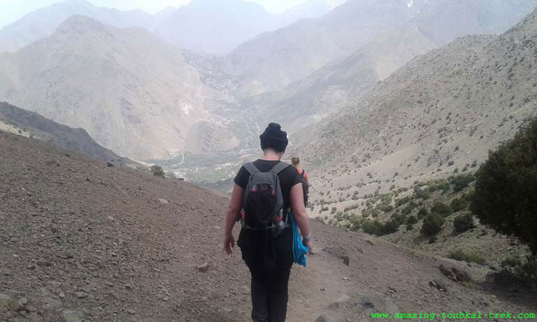 5 night 4 night hike around berber villages