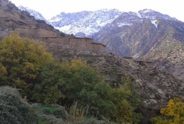 high atlas trekking - trekking in morocco