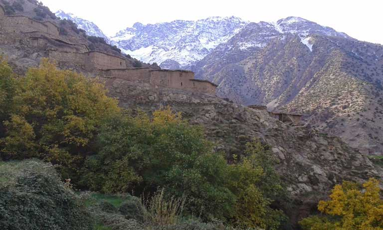6-day high atlas trekking