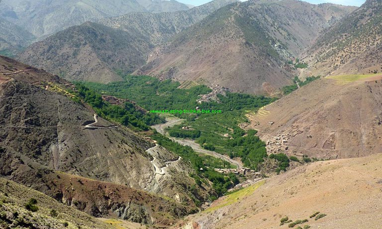 6 days berber villages family trek
