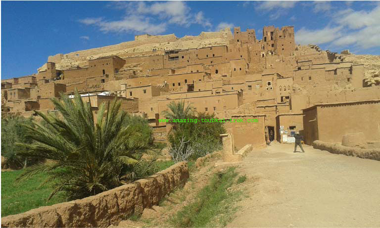 ait benhaddou ouarzazate day trip from marrakech