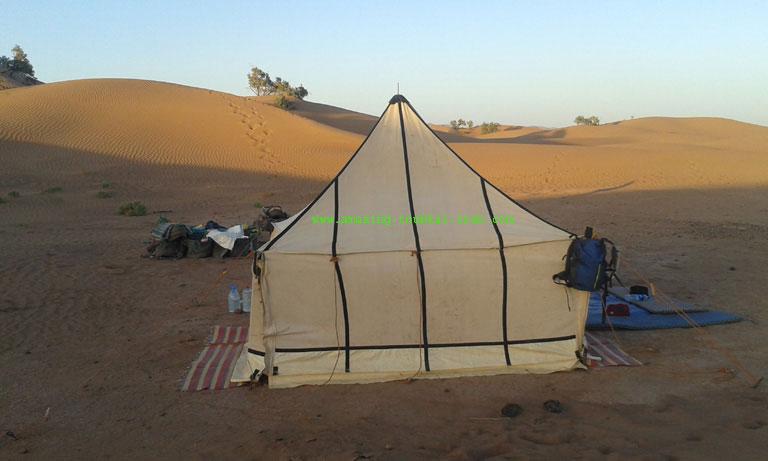 draa valley desert trek 6 day