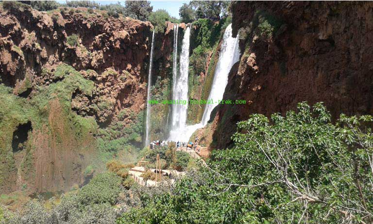 excursion to ouzoud waterfalls