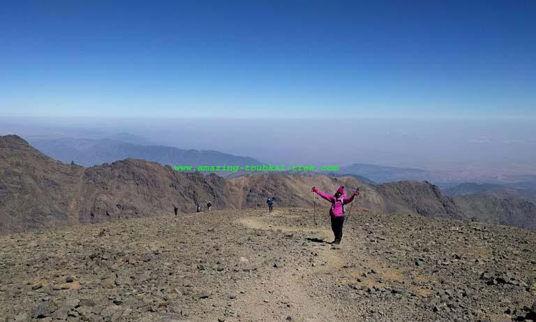 mount toubkal climb - mount toubkal trek