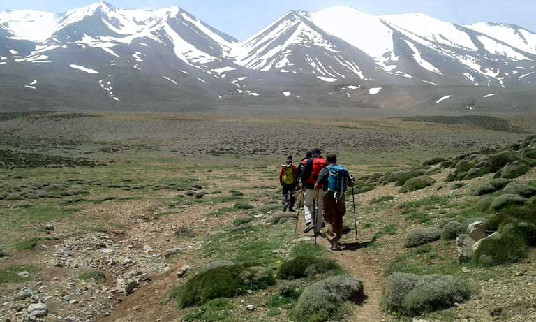 central high atlas - trekking in morocco