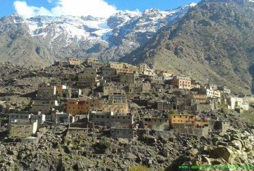 hike around berber villages