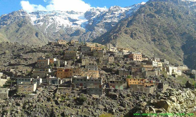 hike around berber villages