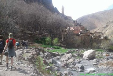 berber villages family trek