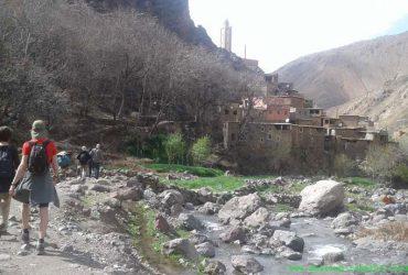 berber villages family trek